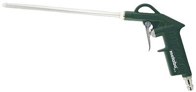 Kompresor, príslušenstvo - Fúkacia pištoľ BP210 METABO fúka