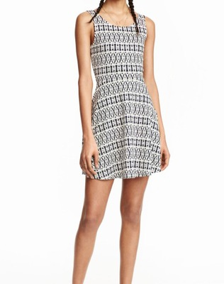 H&M DIVIDED DRESS delikatna stylowa sukienka S