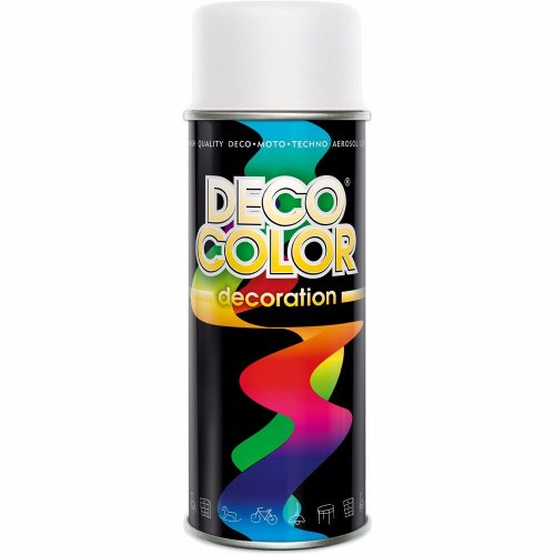 Lakier W Spreju Spray Farba Deco Bialy Mat Lubniany Allegro Pl