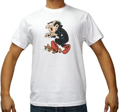 KOSZULKA Ms. SMERFY ASTERIX KOSZULKI GARGAMEL 9491377427 Odzież Męska T-shirty YK SIJPYK-9