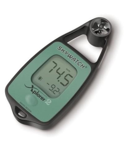 Wiatromierz - termometr SKYWATCH XPLORER 2
