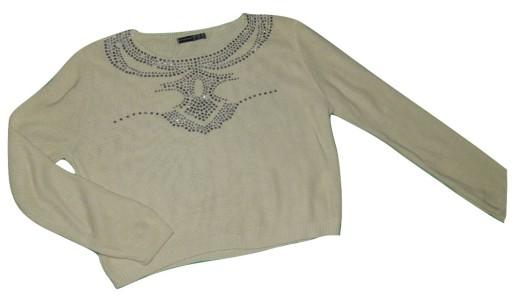 ATMOSPHERE bluzka cienki sweterek dżety / 38