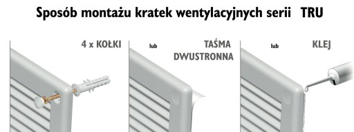 AIRIN KRATKA OSŁONA WENTYLACYJNA FI150 ETRU18K