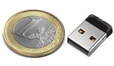Mini NANO pendrive USB SanDisk Cruzer FIT 64GB