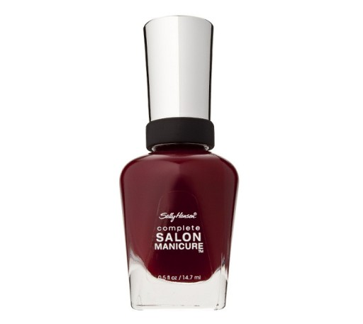 Sally Hansen Salon Complete Lakier Red Zin Super