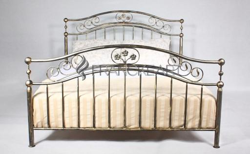 łóżko Metalowe Kute 140x200 Romantyka Producent