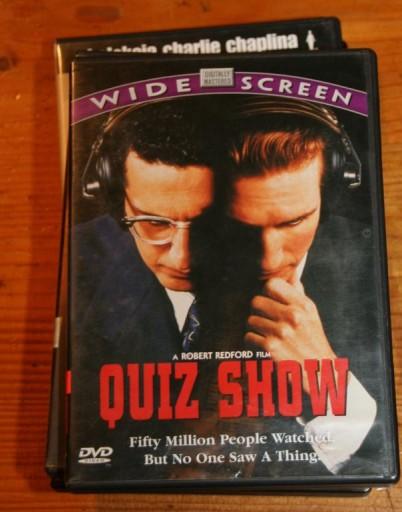 QUIZ SHOW     DVD