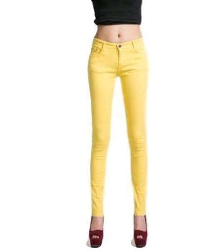 71e4497b Spodnie damskie rurki obcisłe kolorowe SEXY r. XXL