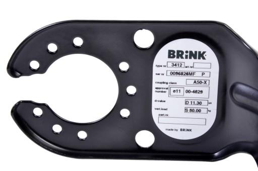 Hak holowniczy BRINK 3412- RENAULT ESPACE 2002+