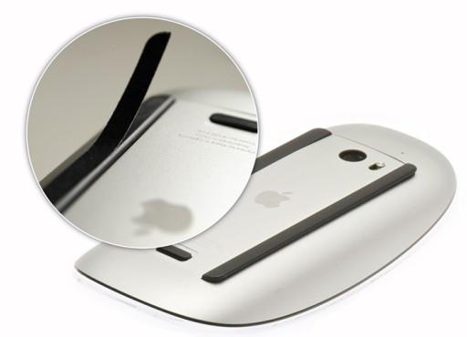 Magic Mouse - welurowe naklejki ochronne