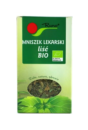 RUNO Mniszek lekarski liść EKOLOGICZNY - 50g