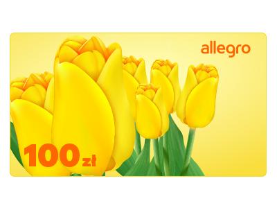 Karta Podarunkowa Kwiaty - 100 zł