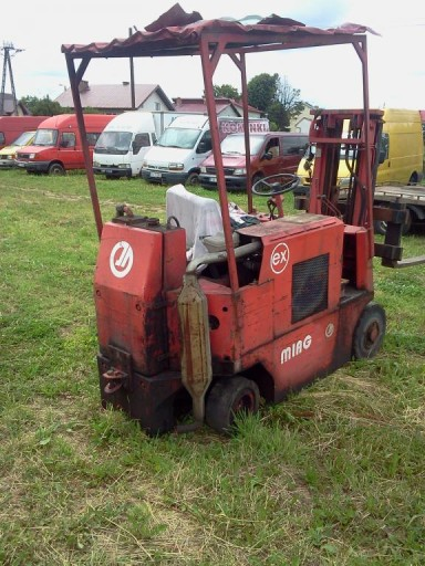 traverse forklift MIAG all pairs of engine MERCEDES-BENS