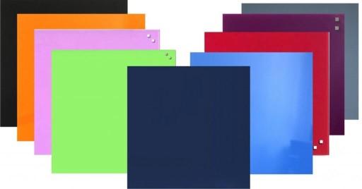 Tablica kredowa magnetyczna 50x50 9 kolorów gratis