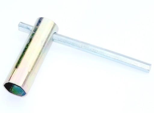 RURKOWY KLUCZ DO ŚWIEC 18mm KRÓTKI
