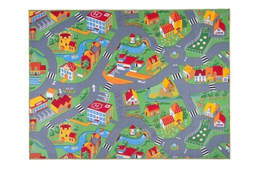 Dywan 150x200 Dywany Dla Dzieci Farma Miasto Ulice