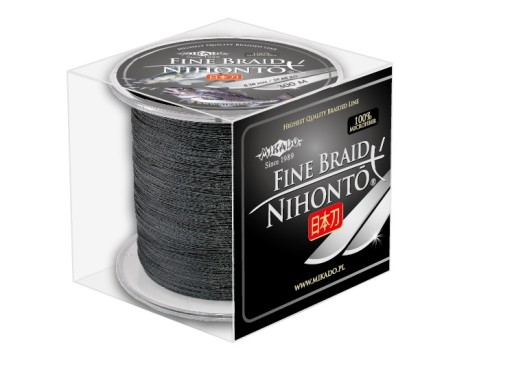 Mikado Nihonto Fine Braid 0,16mm 300m czarna