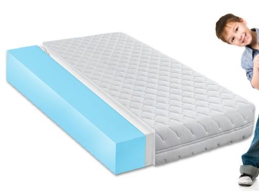 90x200 Materac Dla Dziecka Do łóżka Miękki Aż 21cm