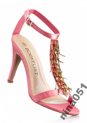 złote sandały paseczki na szpilce allegro sale