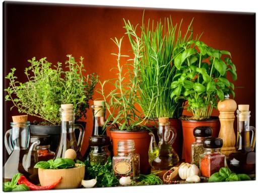 Fotoobraz Zioła Przyprawy 120x80 Obraz Do Kuchni