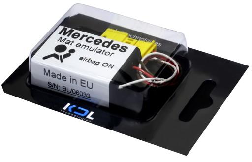 For MERCEDES ML W163 1998-2005 Airbag Emulator-Passanger Occupancy Seat Sensor
