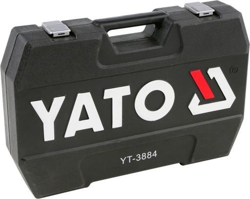 ZESTAW 216el KLUCZE NASADOWE YATO YT-3884 +40 TORX