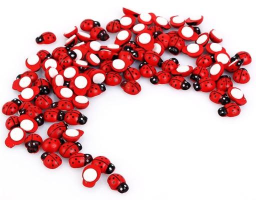 Biedronki Naklejki Na Sciane 3d Czerwone 100 Szt 7858150510 Allegro Pl