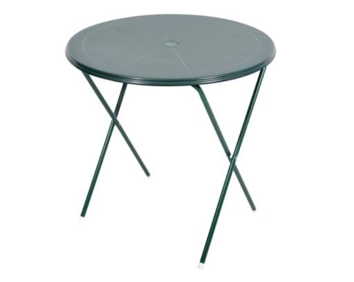 Plastikowy Stół Stolik Składany Balkonowy Okrągły