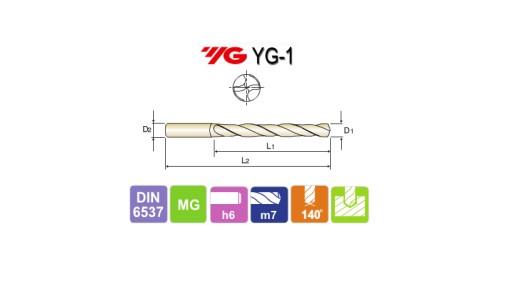 WIERTŁO WĘGLIKOWE FI 17,5 CHŁODZENIE YG-1 FV LONG
