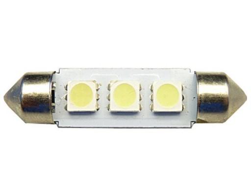 10x42 żarówka LED rurkowa 42mm 3 SMD C5W C10W 12V 6891968207