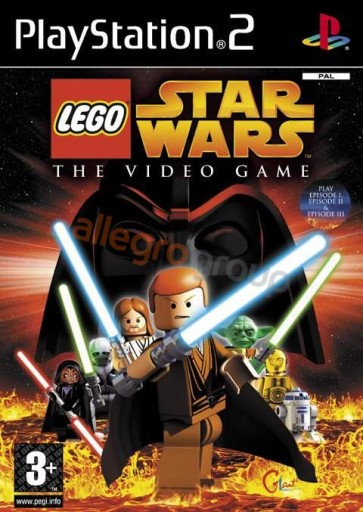 Ps-2''Lego Star Wars The Video Game ''