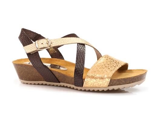 Sandały profilowane w Buty damskie Allegro.pl
