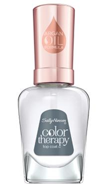 Sally Hansen Color Therapy Top Coat Blask Trwałość
