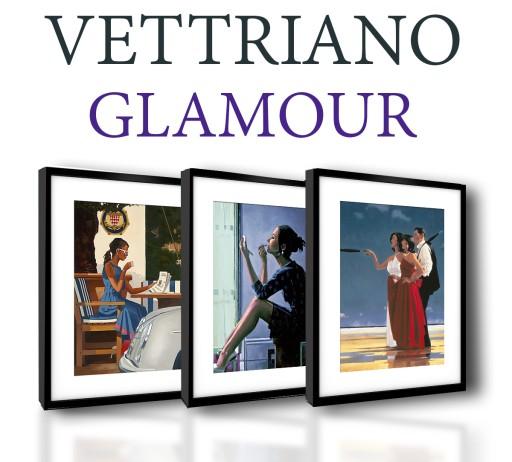 Vettriano Plakaty W Ramach 40x50 Glamour