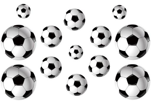 Naklejki Na ścianę Piłka Nożna Piłki Gratisy 6973425148 Allegropl