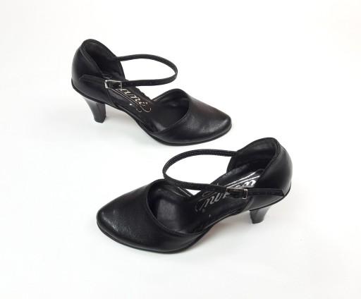 569bbdea buty damskie czarne wizytowe mały rozmiar 30 szpil 7117354835 ...