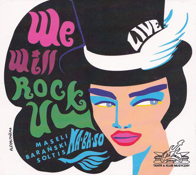 MABASO - WE WILL ROCK YOU - OKAZJA!