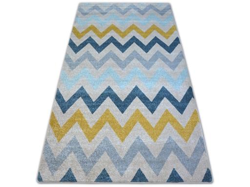 Dywany łuszczów Nordic 120x170 Zygzak Beż A166