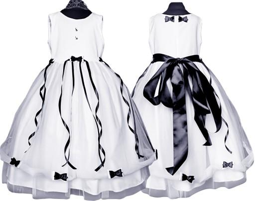 PL Cudo.Beti tiulowa sukienka chrzest  56 *