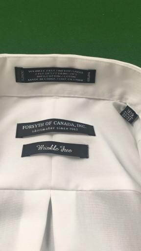 Koszula męska biała typu NON IRON rozmiar 15H 8517220200  vloQu