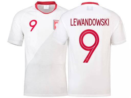 Koszulka sportowa T shirt LEWANDOWSKI POLSKA 110