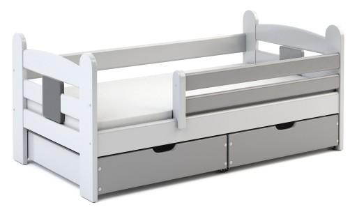 łóżko Dla Dziecka łóżeczko Dziecięce 80x160 Timi