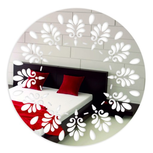 Lustro Dekoracyjne Akrylowe Sunny 50 Cm Okrągłe