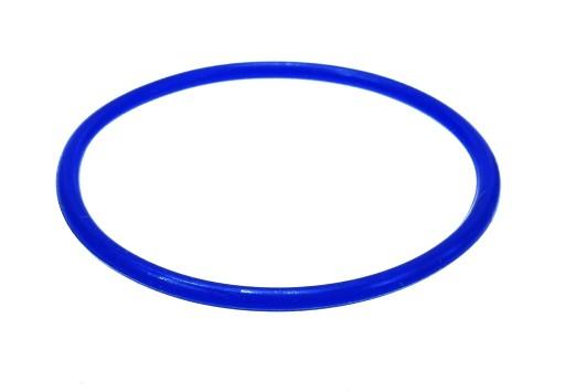 B429-2 Bransoletka bangle kolor ciemny niebieski