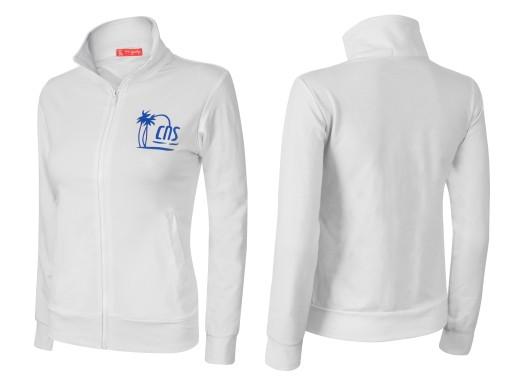 b07f8e777 Bluza Damska Sportowa Rozsuwana 16A Bluzy M biały 6897181075 ...
