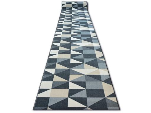 Dywany łuszczów Chodnik Sky 67 Cm Trójkąty Q2498