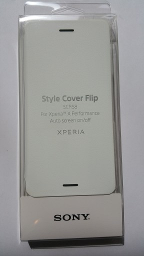 Oryginalne Etui Sony Xperia X Performance Scr58 6884038359 Sklep Internetowy Agd Rtv Telefony Laptopy Allegro Pl