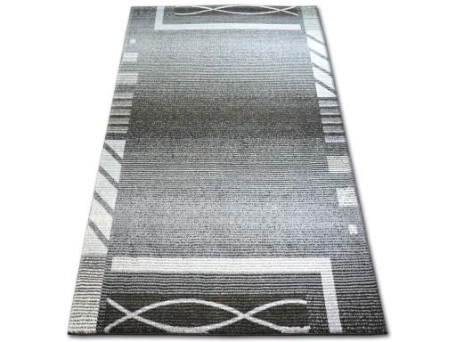 Dywany łuszczów Shadow 240x330 Ramka Szary At1678