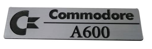 Badge sticker znaczek Amiga 600 / A600 HD