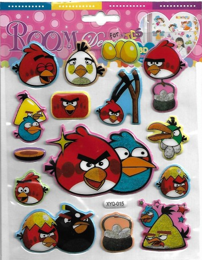 Naklejki Angry Birds 7158227186 Allegro Pl